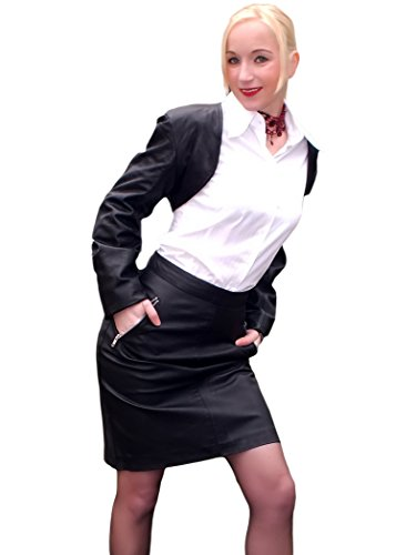 Fetish-Design -  Coprispalle  - Senza collo - Maniche lunghe  - Opaco - Donna nero