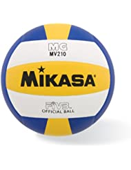 Mikasa FIVB Official Volleyball, Premium Synthetic Leather Ball-MV210