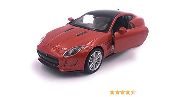 Welly Jaguar F Type Modellauto Auto Lizenzprodukt 1 34 1 39 Orange Auto