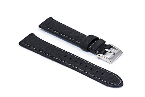 watchassassin-waterproof-black-watch-strap-22mm