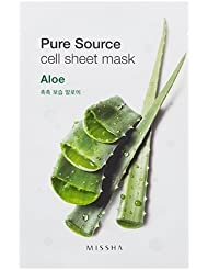 MISSHA Pure Source Cell Sheet Mask (Aloe), 1er Pack