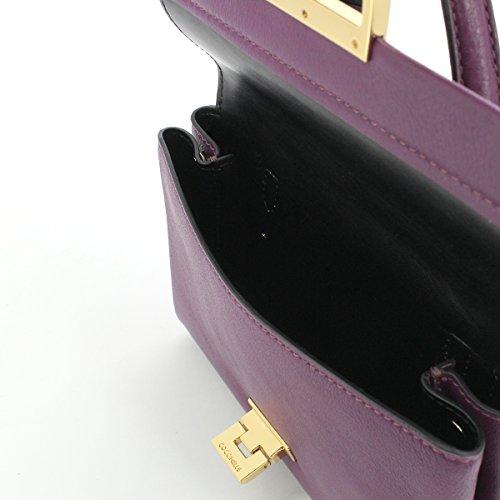 Minibag in pelle RAISIN