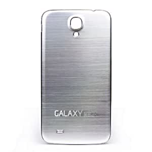 Goliton® Metal Wiredrawing Battery Back Case Cover for Samsung Galaxy Mega 6.3 i9200 - Silver