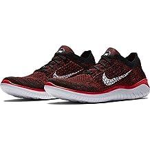 pretty nice 45e1a 182da Nike Free RN Flyknit 2018, Zapatillas para Hombre, (Bright Crimson White