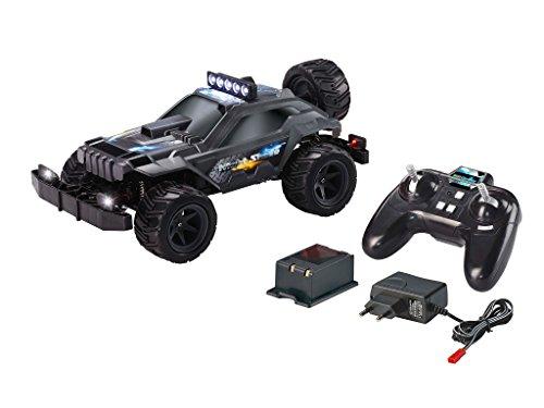 Revell Control X-treme RC Car - schnelles, sehr robustes ferngesteuertes Auto als Offroader mit 2,4 GHz Fernsteuerung inkl. Akku und Ladegerät (kurze Ladezeit - langer Fahrspaß) - NIGHT SHADE 24810 (Rc Car Speed Control)