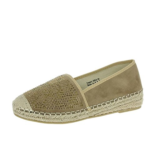Or De Chaussures Heavenly Feet Jagger Or