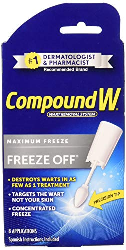 Compound W Freeze Off Wart Remover-8 applications