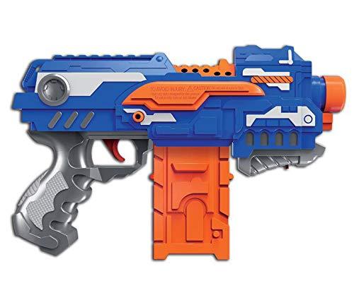 Brigamo Elektrisches Dartblaster Gewehr Softdart Blaster Firestorm inkl. 16 Schaumstoff Pfeile