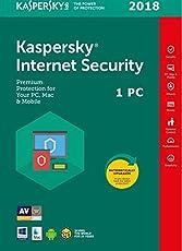 Kaspersky Internet Security 2018 1 PC/MD 1 Anno