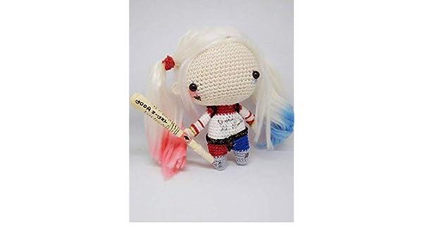 Ravelry: Harley Quinn Amigurumi pattern by Isabela Bessa | 350x600