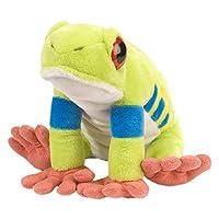 Wild Republic Red Eyed Tree Frog Plush Soft Toy, Cuddlekins Cuddly Toys, Gifts for Kids 30 cm