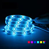 LIVOLO Smart APP Control LED Strip Lights 6.56ft,SMD5050 RGB WiFi LED Lights Strip for Bedroom,Requi