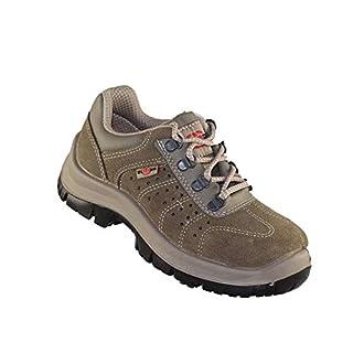 Almar Grim S1 SRC Work Shoes Working Footwear Flat Beige B-Ware, Size:41 EU