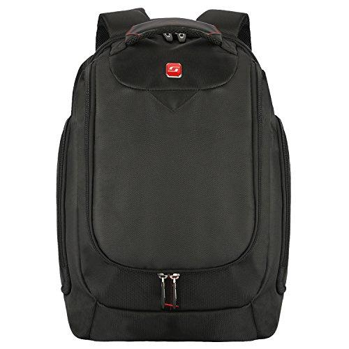 Preisvergleich Produktbild Soarpop WB4393 17'' Laptoprucksack Business Backpack (schwarz)