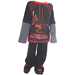 Star Wars Darth Vader de Niños pijamas Edades 7-8 Años