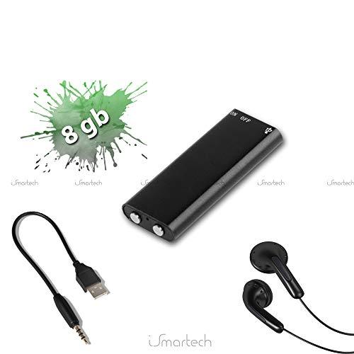 Piushopping Micro Mini Grabador espía Vocal Audio