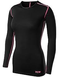 TCA T-shirt/Top Femme Sport SuperThermal Performance à manches longues, Running Training