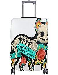 Preisvergleich für COOSUN Französisch Bulldog Print-Reise-Gepäck Schutzabdeckungen Waschbar Spandex Gepäck Koffer Cover - Passend...