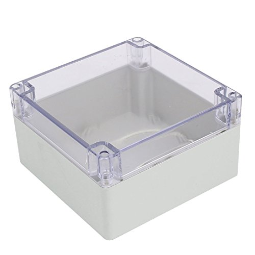 x 90mm ABS Clear Cover Dustproof IP65 Electrical Junction Box ()