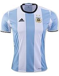 20162017UEFA Euro Tasse Argentine DIY Nom et Numéro de maison National Football Soccer Jersey en blanc