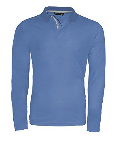 CODE ZERO Herren Poloshirt Jib Cool Dry Funktion Denim