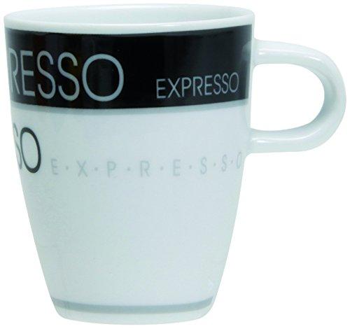 Novastyl Lot de 6 Tasses Expresso 8CL Toffee