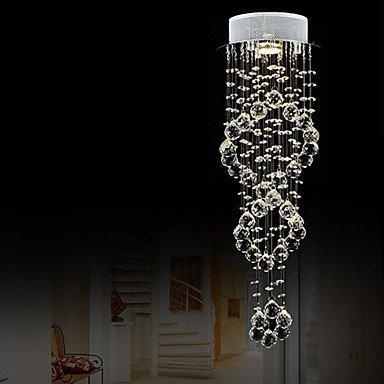 MingXinJia Moderne Kronleuchter Deckenleuchten Anhänger i 35W Licht Kristall Stil Mini Kronleuchter Wohnzimmer Esszimmer Studie 3C Ce FCC Rohs für Wohnzimmer Schlafzimmer, 220-240 v -