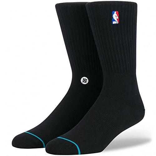 Nba Logoman Crew Socken black Größe: L Farbe: black