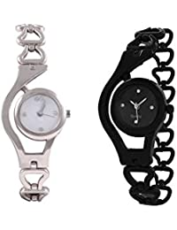 Gopal Shopcart Fancy Black And White Analog Watch For Women And Gilrs Analog Watch - For Girls