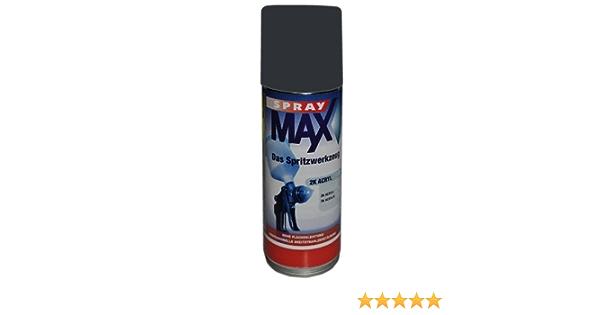 Spray Max 1k Decklack Matt Ral 7021 400 Ml 687021m Auto