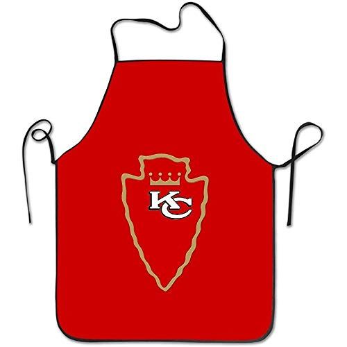 uyruyeue Kansas City KC Chiefoyals Arrow Kitchen Apron (Kansas Tragen City)