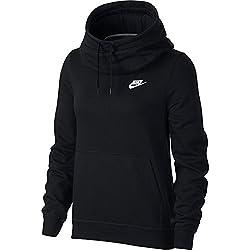 Nike FNL FLC Sudadera, Mujer, Negro, M
