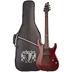 SGR by Schecter C-1 3846 - Guitarra eléctrica, color walnut satin