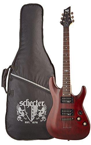 SGR by Schecter C-1 3846 - Guitarra eléctrica, color walnut satin