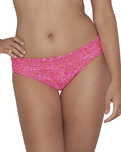 Curvy Kate Damen Bikinihose Daze Fold Over Brief Pink (Pink Mix)