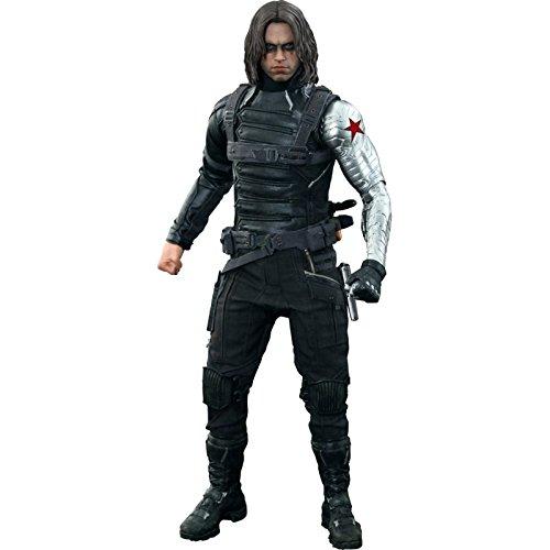 Marvel Hot Toys 1: 6Winter Soldier von Captain America 2 - Soldier Winter Kostüm