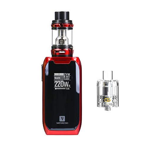 [Original Auf Lager] Vaporesso Revenger X Kit Tank 5ml E Zigarette Starter Kit/ Vaporizer / Elektronische Zigarette ohne Tabak - ohne Nikotin- (Rot)