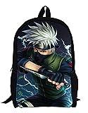 Anime Naruto Sac à Dos Sac à Dos pour Ordinateur Portable Sacoche Sac à bandoulière College Bag Cartable Cartable (Color : -, Size : -)