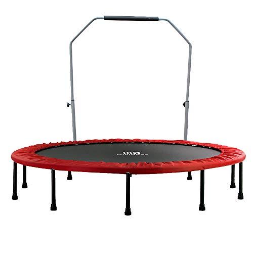 Sit-up board Trampolino Pieghevole a casa Attrezzature per Il Fitness Bambini Adulti Aumentano la Perdita di Peso Trampolino di Allenamento di 60 Pollici (Diametro 1,52 Metri)