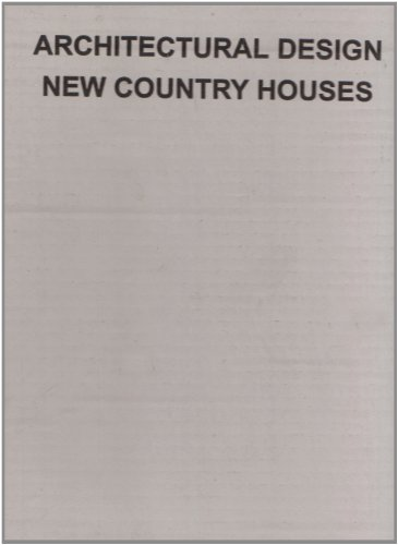 New country houses (Architectural Design)