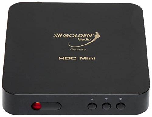 Golden Media HDC Mini CA Kabel-Receiver (DVB-C, WiFi, HDMI, USB, Full HD) mit Conax7 Kartenleser