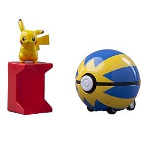 Pokémon - T18004 - Figurine - Coffret Catch N Return Poké Ball - Modèle Aléatoire