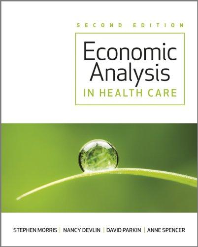 Economic Analysis in Healthcar