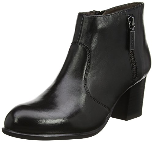 Stonefly Damen Molly 3 Nappa Plateaupumps, Schwarz (Nero/Black), 40 EU (High Heel Nappa Boot Ankle)