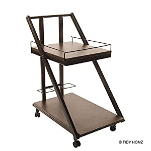 TidyHomz Brenta Multipurpose Trolley – Dark Brown