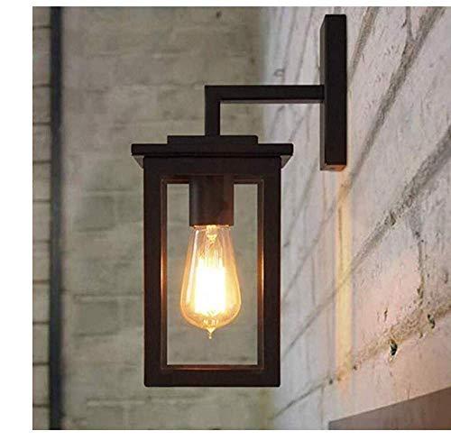 MTXLtd Wandfluter Lichter Lampen Lichter Scheinwerfer Beleuchtung Retro Licht American Loft Retro Industrial Wind Einzelkopf Gang Balkon Außentreppe