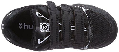 Hummel Hummel Root Velcro, Chaussures de Fitness mixte enfant Noir (Black)