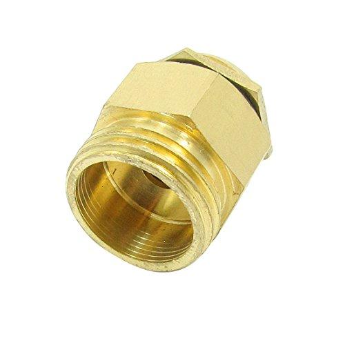 Sourcingmap 3/8 di pollice Ottone Diametro discussione acqua ugello spruzzatore - tono oro