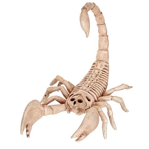 Halloween Dekorative Gegenstände Haunted Haus Skorpion Schädel Knochen Modell Rahmen Horror Bar Stützen
