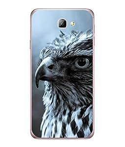 Fuson Designer Back Case Cover for Samsung On7 (2016) New Edition For 2017 :: Samsung Galaxy On 5 (2017) (Sharp Danger Black White Men Boys Gents )